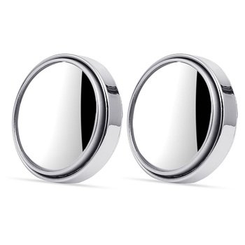 2pcs set 360 Degree Universal Blind Spot Convex Mirror For Car