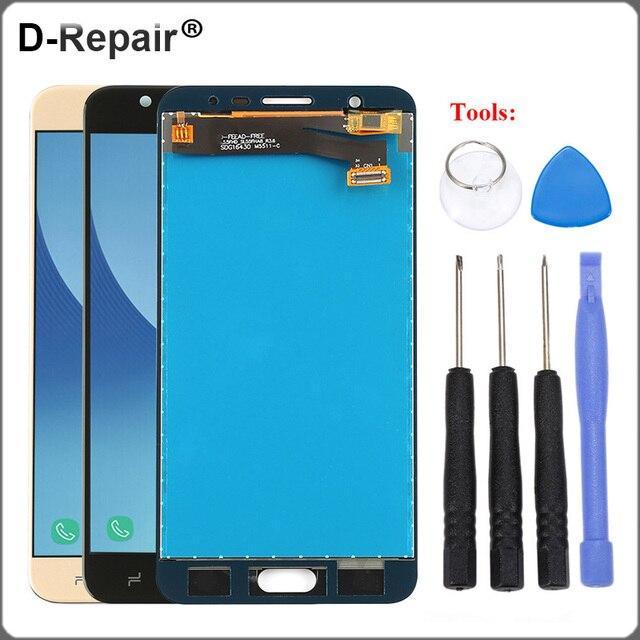 3f75adae8 Para SAMSUNG Galaxy J7 Prime 2 LCD Dispaly Tela Touch Screen Digitalizador  Substituição Para Samsung J7