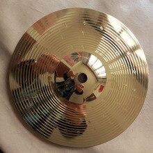 Прямые продажи Реальные Cuencos Cuarzo Crash Gongs барабаны тарелки аттракцион Hi-hat ритм 8 дюймов