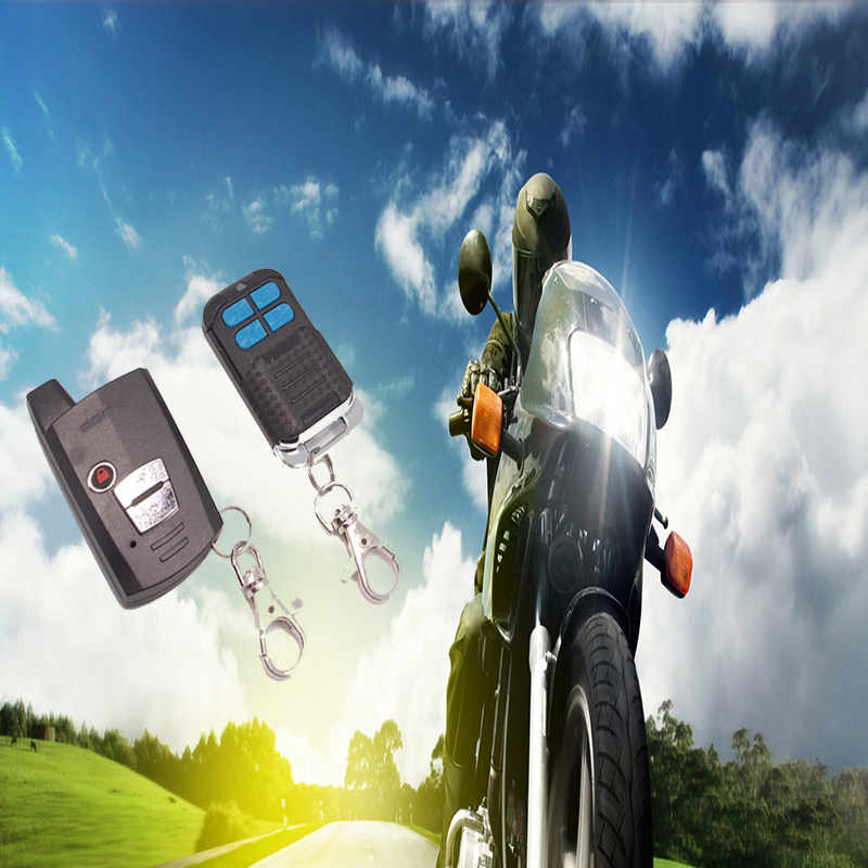 Two Way Motorcycle Vibriation Alarm Remote Start 12V Scooter Motor Alarm Moto Security System Anti-theft Alarm For Motorcycle