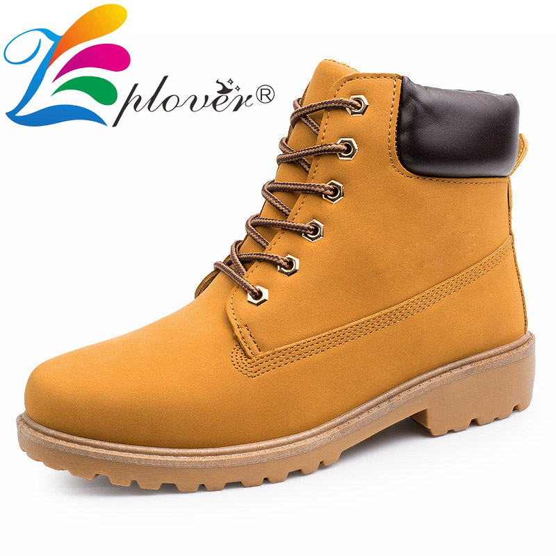 2018 Men Leather Boots Winter Safety Shoes Men Timber Land Shoes Botas Hombre Classic Lace Up Ankle Boots For Men Work Snow Shoe