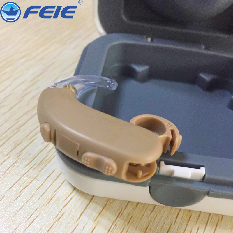 Medical Equipment Hearing Aid Sound Amplifier Earphone for Deafness HEARING AIDS with ear plugs S-303 New arrival 2017 free shipping hearing aids aid behind the ear sound amplifier with cheap china price s 268