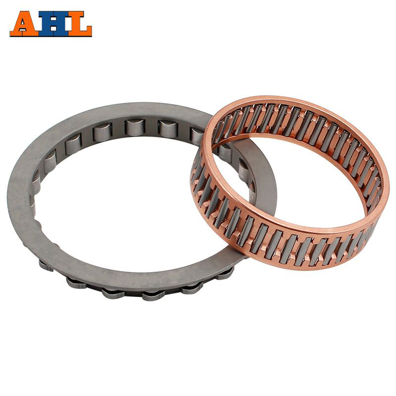 AHL Big Roller Reinforced One Way Starter Clutch Bearing and Needle For Yamaha V-star XVS1100 Drag Star 1100 Classic 2004-2008AHL Big Roller Reinforced One Way Starter Clutch Bearing and Needle For Yamaha V-star XVS1100 Drag Star 1100 Classic 2004-2008