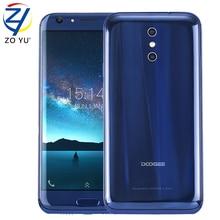 Nueva Doogee BL5000 12 V/2A del Androide 7.0 Del Móvil Octa Core 5.5 HD MT6750T 13MP Trasero de Doble Cámara de 4 GB + 64 GB ROM 8 Teléfono Celular Curva