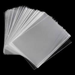 100 шт. 65x90 мм карты рукава настольный протектор для волшебные карты панель системы сбора игры Новый