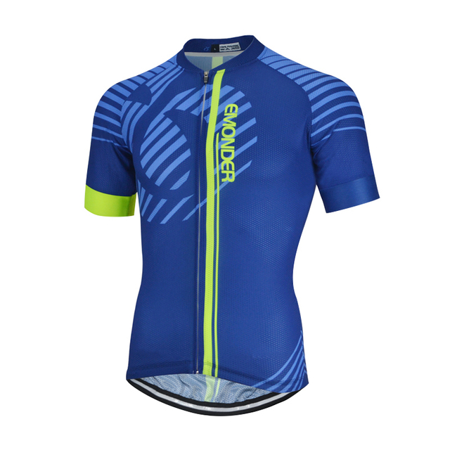 Men's Short Cycling Jerseys MTB Bike Quick Dry Breathable Jerseys Clothing Italy MITI Non-slip Bicycle clothes Emonder