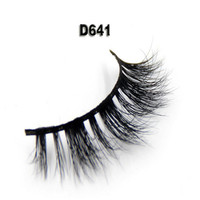 Super Natural Eyelashes Handmade False Eyelash 3D Strip Mink Lashes Thick Fake Faux Eyelashes Makeup Beauty