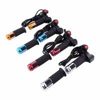 7 Wires 2Meters LED Voltage Battery Display Twist Throttle Universal For 12 84V Scooters Electric Bike
