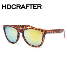 New Flat Top Mirror Sunglasses Woman Brand Design Vintage Colorful Cat Eye Sun Glasses For Women