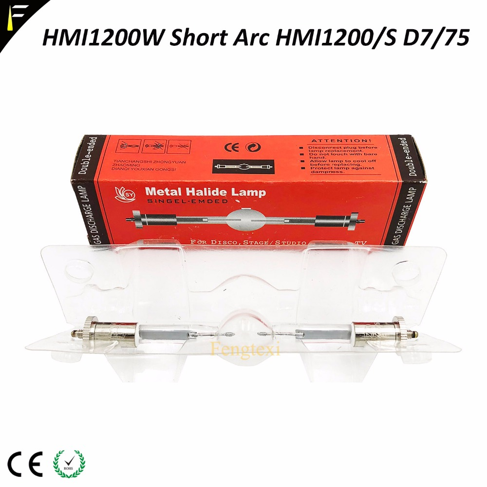 цена на 136mm Short Acr HMI 1200/S short in base Sfc10-4( 85-265V 700hrs life ) Metal halide lamps MSR1200/2 Gold SA/2/DE HTI1200W/D7/75