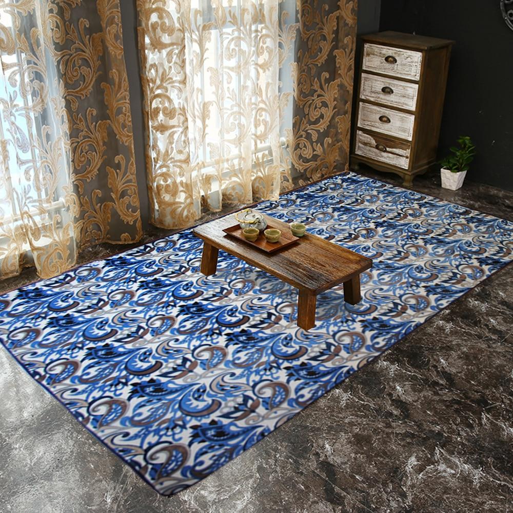Yazi moderne blatt muster plüsch weiche baby kind spielen crawl mat bereich teppich carpet boden große