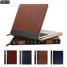 MOSISO Vintage PU Leather Case For Macbook Air 13 Pro Retina 15 Touch Bar Laptop Cover for inch A1932 New