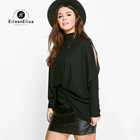 Casual Blouse Loose Summer Blouse Shirts Tops New Turtleneck Shirt Blouse Open Shoulder Top