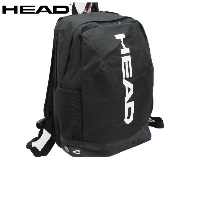 100% Original Head Tennis Bag Tennis Racket Badminton Squash Bag 2-3 Rackets HEAD Tennis Racquet Backpack Badminton Racket Bag