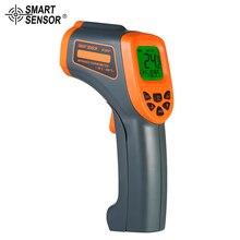 -50~800°C Laser LCD Digital IR Infrared Thermometer Temperature Meter Gun Non-Contact industrial thermometer 120 lcd gun type industrial infrared thermometer tm301