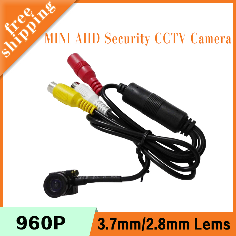 1.3m 960P 2mp 1080P CMOS 2.8mm/3.7mm lens Indoor Audio Mini Black Surveillance Security CCTV Camera Free S