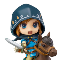 Nendoroid Ride Horses Link Figure Breath Of The Wild Ver DX Edition