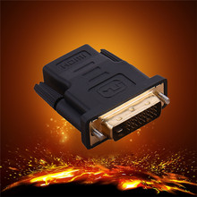 Rondaful DVI 24+1 Male to HDMI Female Converter HDMI to DVI adapter Support 1080P for HDTV LCD Wholesale Dropshipping