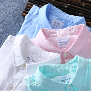 Image 3 - Schinteon 男性春夏コットンシャツスリム平方襟快適なアンダーシャツの男性プラスサイズ