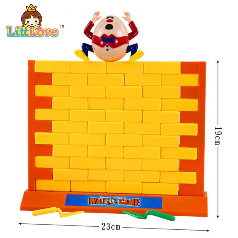 LittLove 2017 Roliga Gadgets Push Wall Board Game Demolish Creative - Nya föremål och humoristiska leksaker - Foto 6