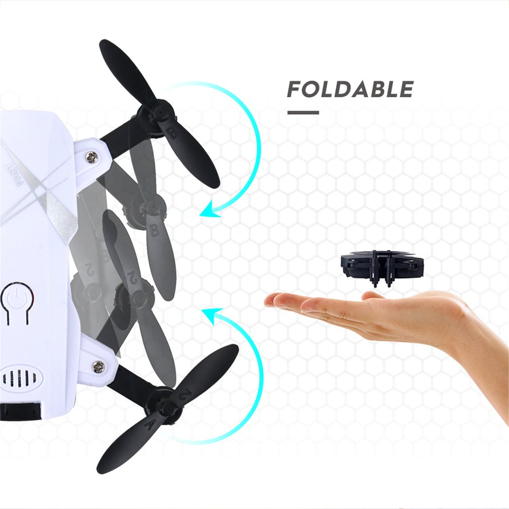 LF602 FPV Foldable RC Quadcopter Drone with 720P HD Wifi Camera and Altitude Hold Function 15