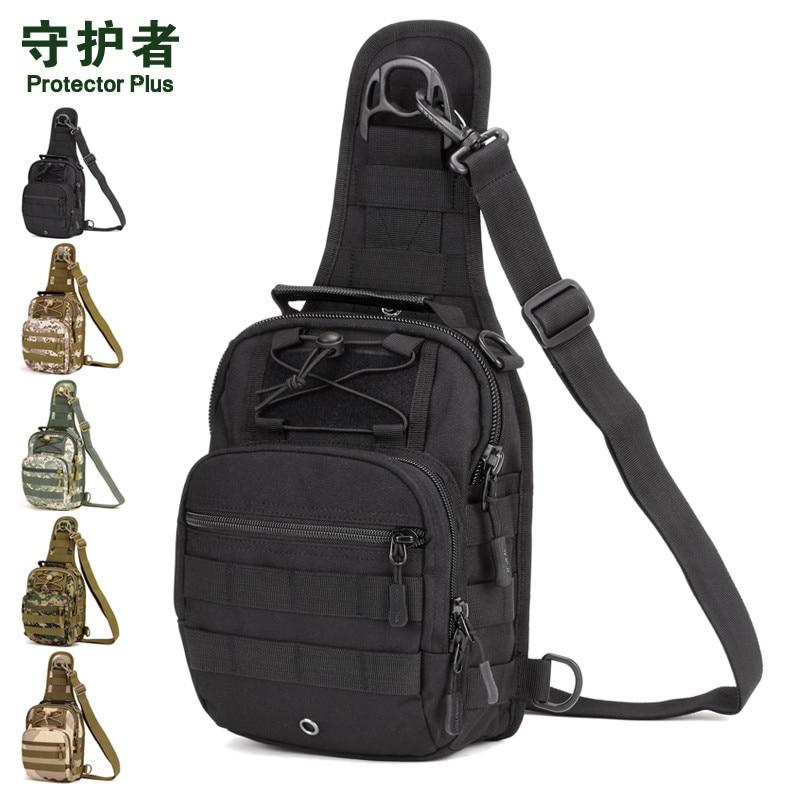 Tas bahu lumbar, 2016 tas dada militer, Tas multi-fungsional, Paket - Tas tangan - Foto 6