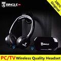 Bingle radio fm auriculares inalámbricos b616 tv multifunción del auricular estéreo inalámbrico auriculares con micrófono para mp3 pc tv audio móviles