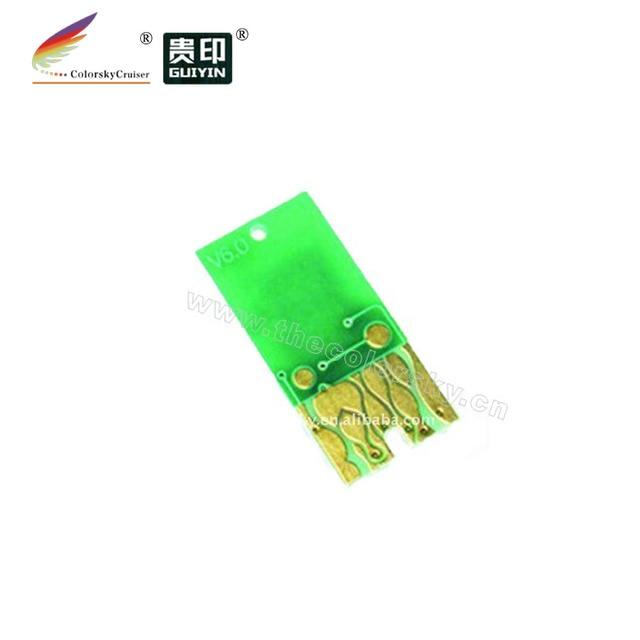 (ARC-0801R) auto reset ARC ink cartridge chip for Epson T0801-T0806 Stylus PX700W PX710W PX700 PX710 Photo P50 V6.0