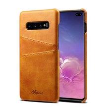 Coque pour Samsung Note S 20 10 5g 10e 9 8 plus Ultra Capa Funda Etui de luxe en cuir téléphone carte arrière Coque Coque carcasas