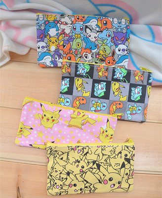 Coin Purses 2019 New Wallets & Holders Pokemon Letter Zip Around Wallet Women Purse Coin Purses Pleasant To The Palate