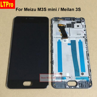 Wholesale 5 0 High Quality For Meizu M3s Mini Meilan 3s Touch Screen Digitizer LCD Display