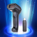 Free Shipping!! Wireless Barcode Laser Scanner  Bar Code Reader Long Non-obstacle 400M
