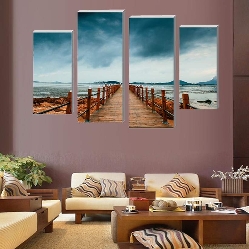 ᐂModulaire Photos Seascape Moderne Décoration de La Maison Salon ...