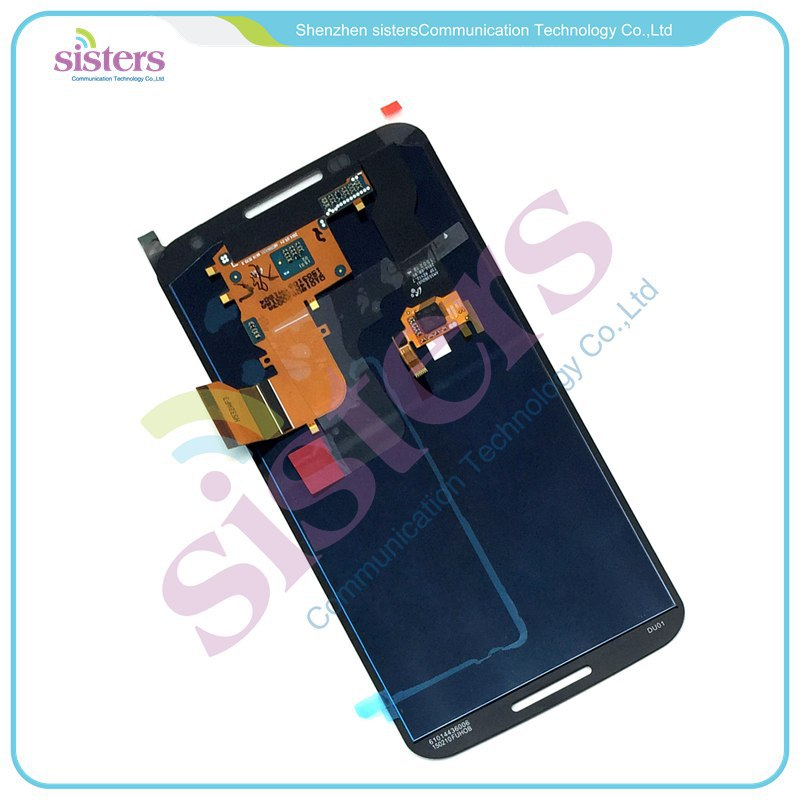 MOTO0109 LCD Display Touch Screen Panel Digitizer Full Assembly Replacement Repair Parts For Motorola Google Nexus 6 XT1100 XT1103 (8)
