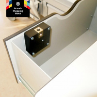 Electronic Invisible Hidden Rfid Cabinet Door Lock with 1 Master keychian and 2 User Cards