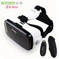 Xiaozhai bobovr z4 mini 3d gafas 3d de realidad virtual de vídeo móvil casco vr auricular cardborad para 4.7-6 smart teléfono + controlador