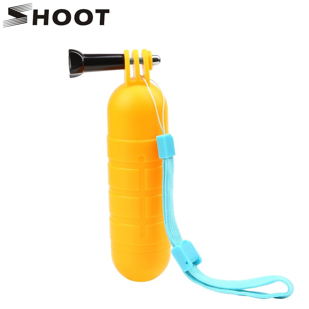 SHOOT Waterproof Bobber Floating Non slip Hand Bar Selfie Grip for Gopro 8 7 5 6