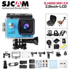 Оригинальный SJCAM SJ4000 WI-FI 2.0 ЖК-дисплей Экшн-камера Full HD 1080 P водонепроницаемый спортивный Камера Дайвинг 30 м Водонепроницаемый Бетер камеры GoPro