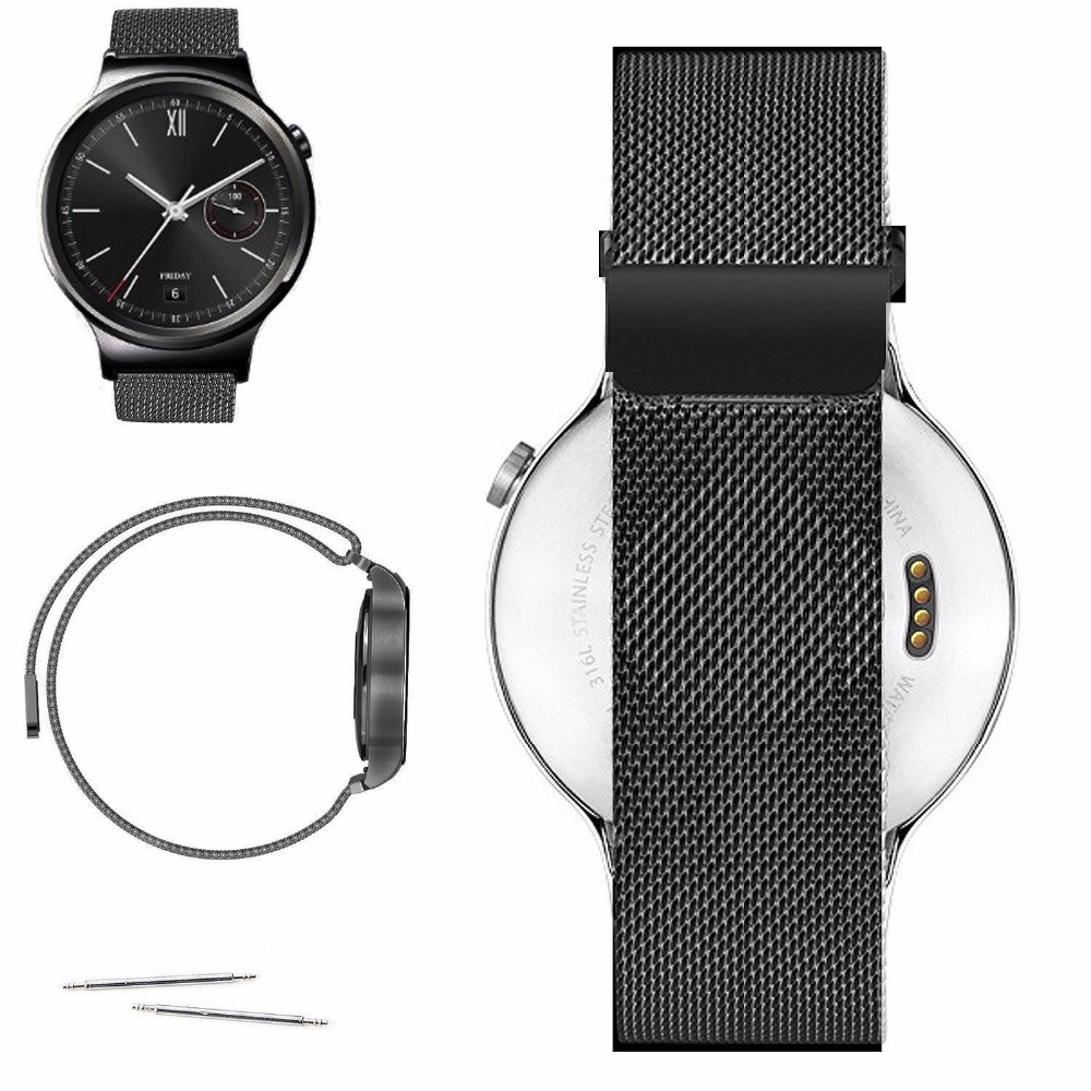 Magnetic Milanese Loop Watch Band Strap For Citizen Men's AO9000-06B Eco-Drive