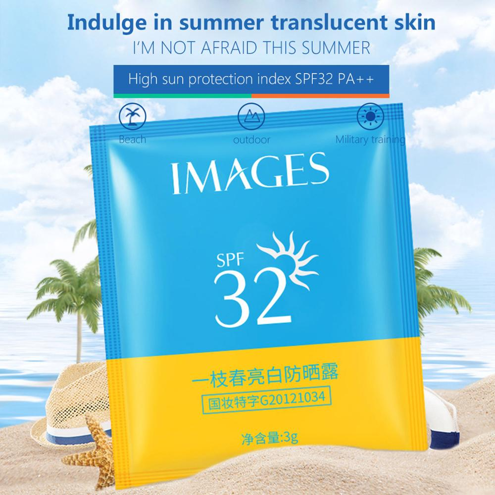 10PCS/set Sunscreen Cream SPF32+ Isolation UV Sunblock Water Resistant Oil Control  Body Sunscreen Concealer