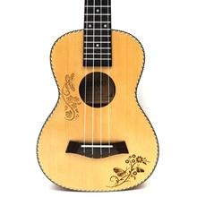 23 Concert Ingman Spruce Drum acoustic Uke ukulele Tenor Acoustic Electric Hawaii Ukulele Travel Guitar 4 Strings Inst  uku