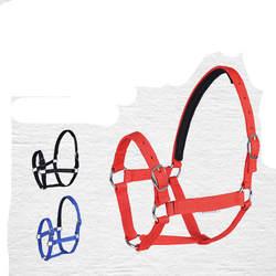 GUGULUZA высокая прочность один Слои нейлон Холтер Регулируемый Недоуздка с сплав цинка кольцо пряжки