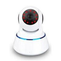 Kızılötesi Gece Görüş Hd Ev Kablosuz Kamera Anten 1MP 720 P HD PTZ Ip PC Android Için Wifi Ağ Kamera Desteği 32g SD