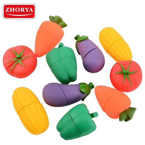 zhorya 5 pcs set plastico ambiental frutas