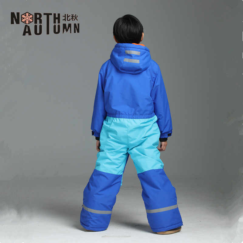 7d17754c8f ... Winter Girl s Suits Ski Suit For Boys Waterproof Snow Romper Kids  Overall Windproof Skiing Jumpsuit Snowboard