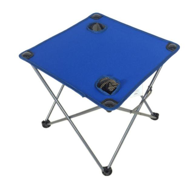 1PC Simple outdoor folding table Oxford cloth portable tourism and leisure folding cloth table for the beach, garden SY17