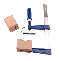 Metal Guitars Bass Fingerboard Frerboard Fret Press Tool With Wooden Block Wrench for Pressing Guitar Frets Luthier Tools