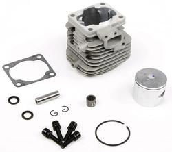 Rovan 4 Bolt 30.5cc Top End Engine Rebuild Cylinder Head Piston Kit for Baja Buggies and Truck with 30.5cc Engine