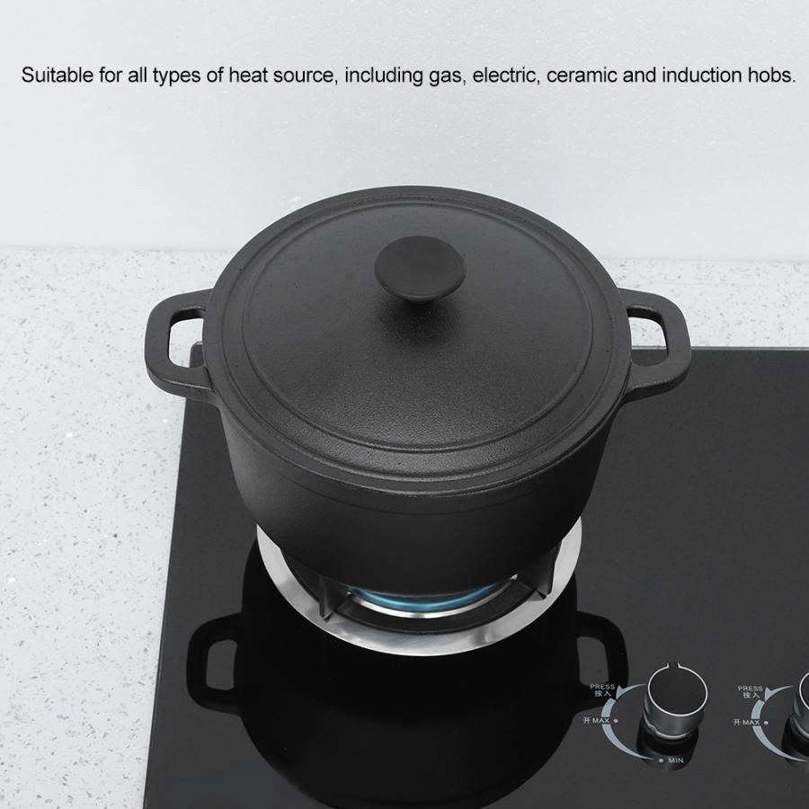Portable Non-Stick Cast Iron Pot 2