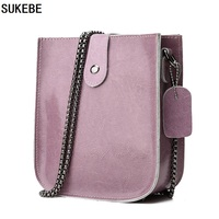 SUKEBE Top Quality MINI Shoulder Bags 100 Genuine Cow Leather Messenger Bag Female Vintage Crossbody Bags